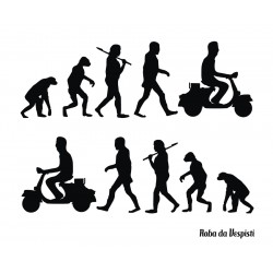 Adesivo Stickers Kit Vespaman Evolution 20 cm