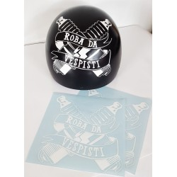 Stickers Roba da Vespisti Sparkplugs