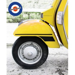KIT Adesivi Strisce VESPA PX - Striped Sticker Mudguard Fender