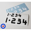 Stickers 1 • 2 3 4 Gear box Roba da Vespisti