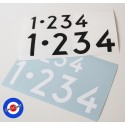 Stickers 1•234 Gear box Roba da Vespisti