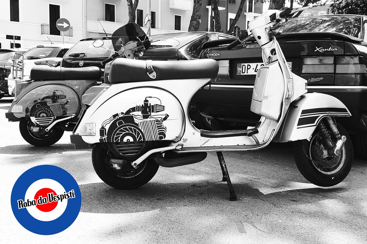 Stickers Kit Vespa PX Engine Decals